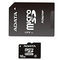 A-Data Micro SDHC 16 Gb Class 10 + adapt (10)