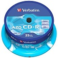 Verbatim CD-R 700mb, 52x, Cake (25) Printable (25/200/16000)